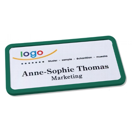 Office 40 classic naambadge groen